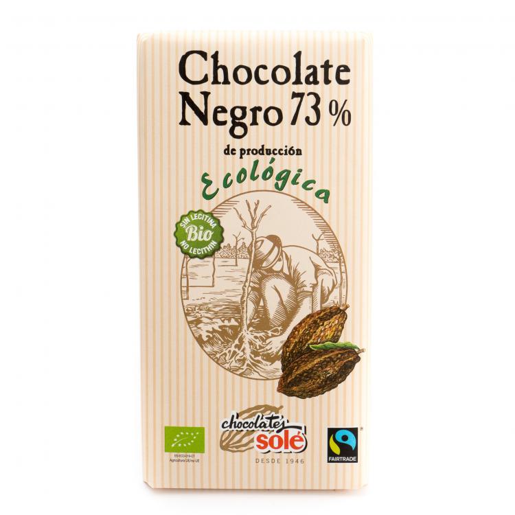 Chocolate negro 73% ecológico