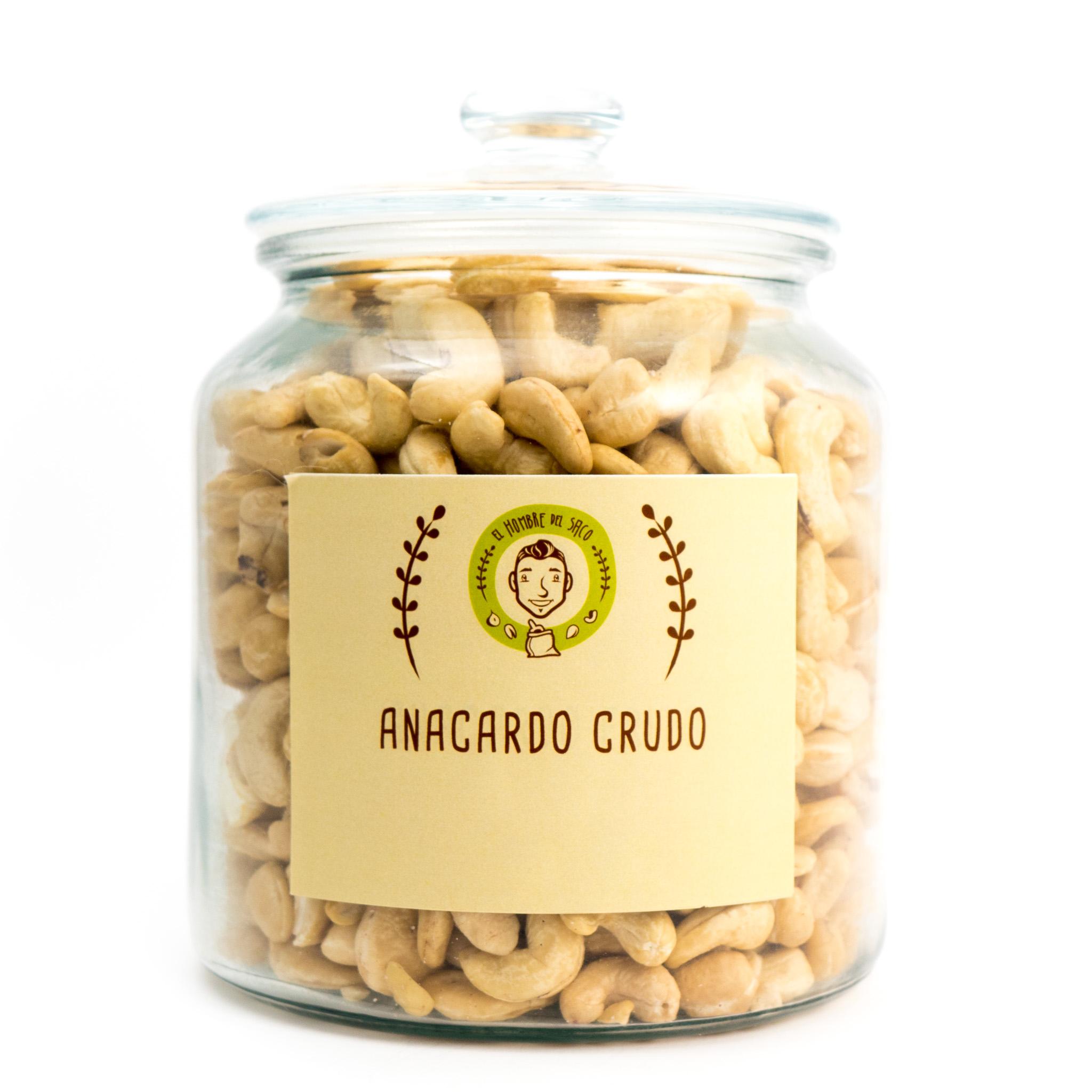 Anacardo crudo sin sal