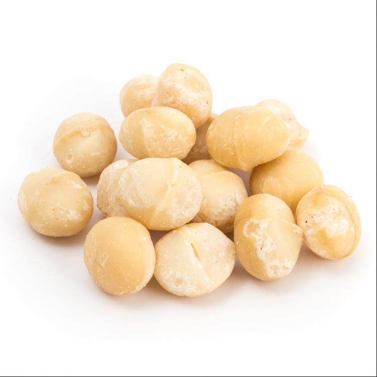 Nuez de Macadamia cruda (nuez australiana)