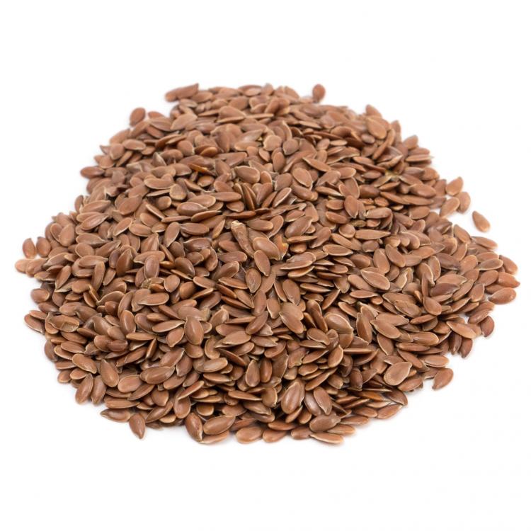 Semillas de lino marrón ecológicas