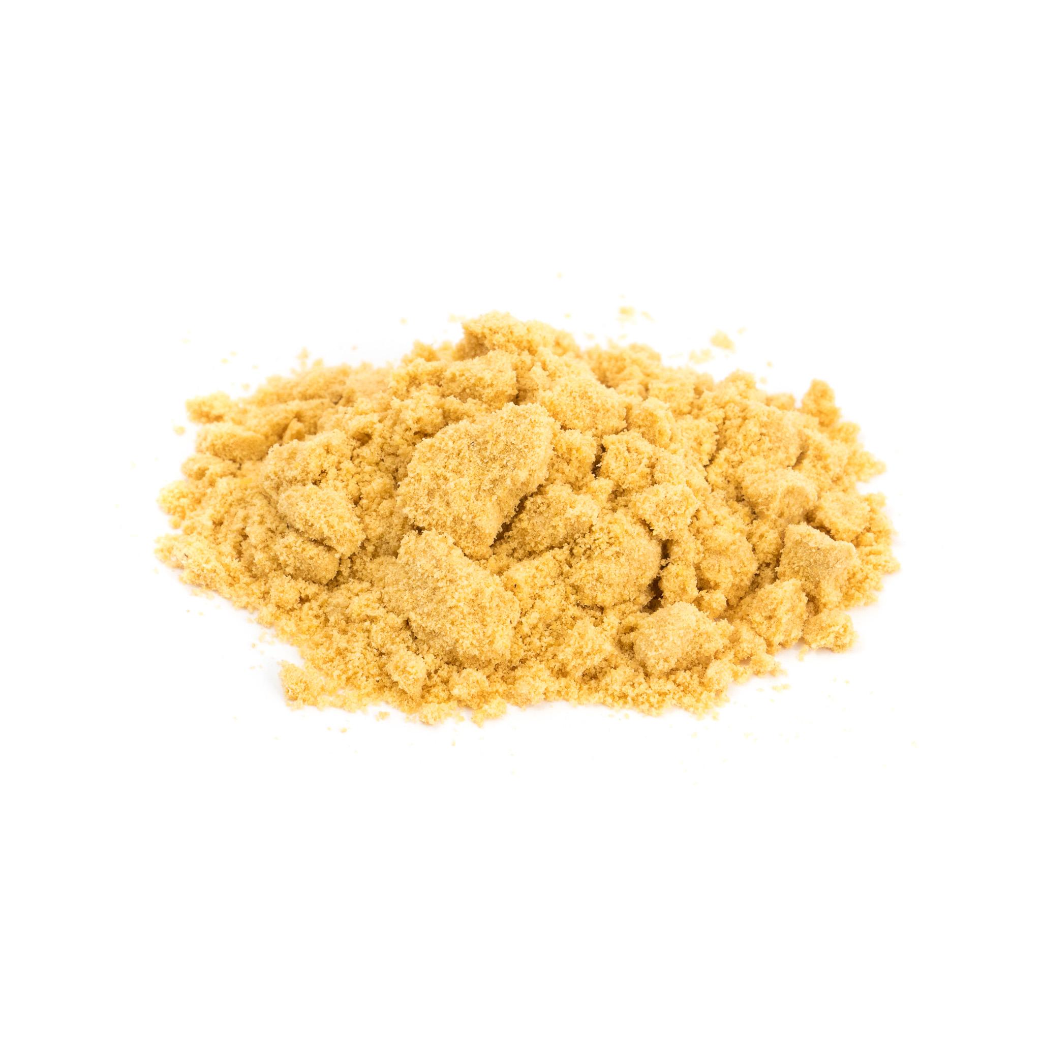 Mostaza amarilla en polvo