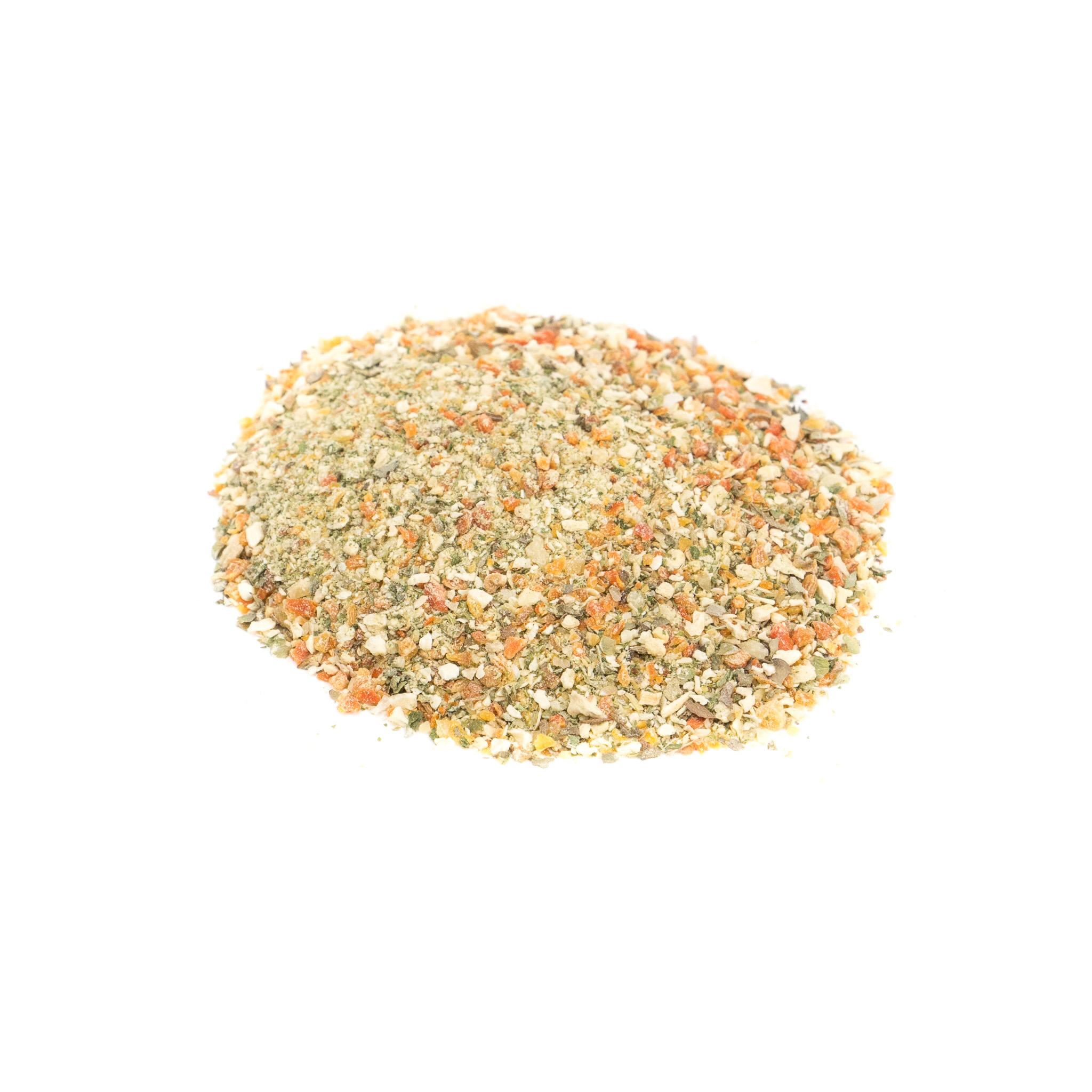 Condimento vegetal sin sal