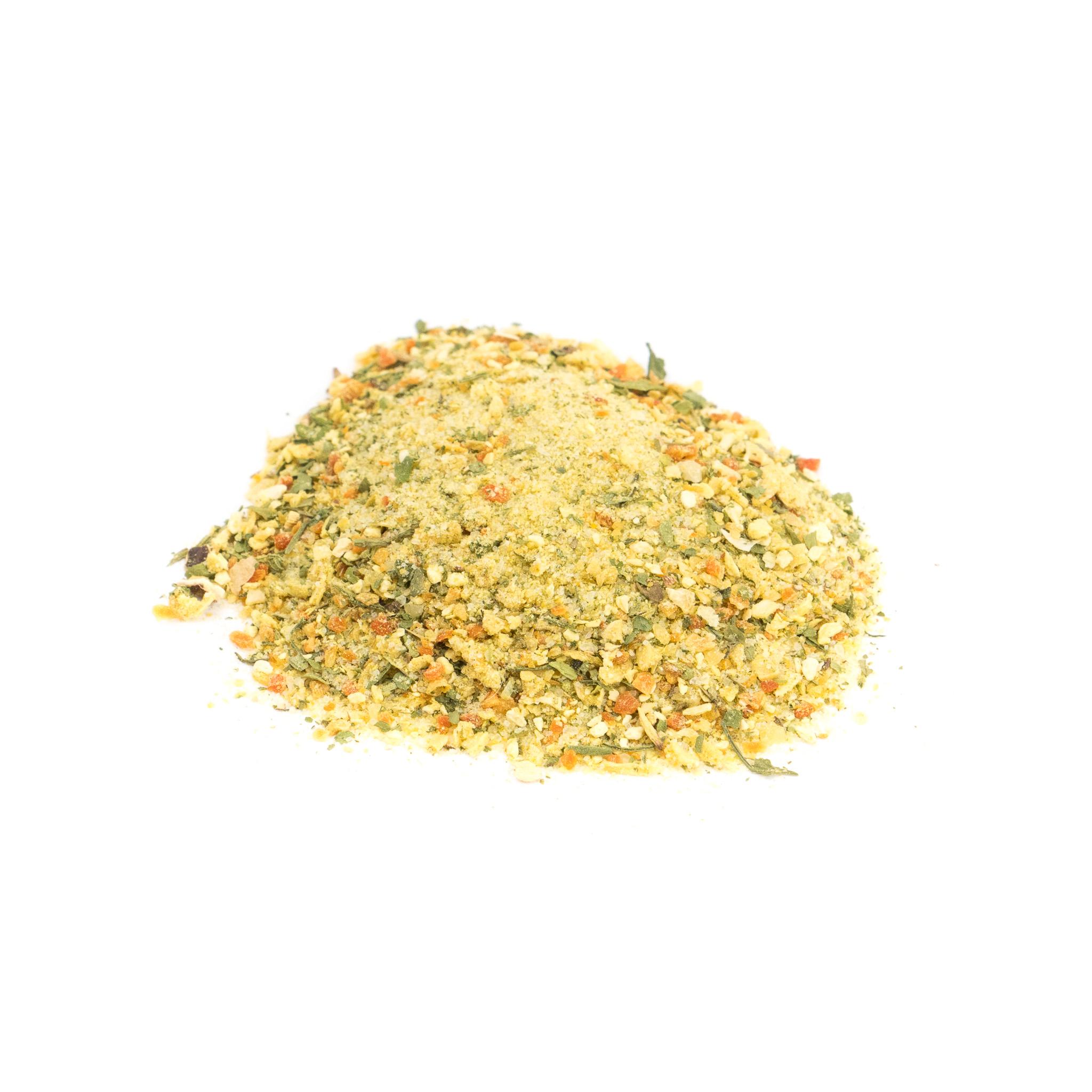 Condimento vegetal con sal