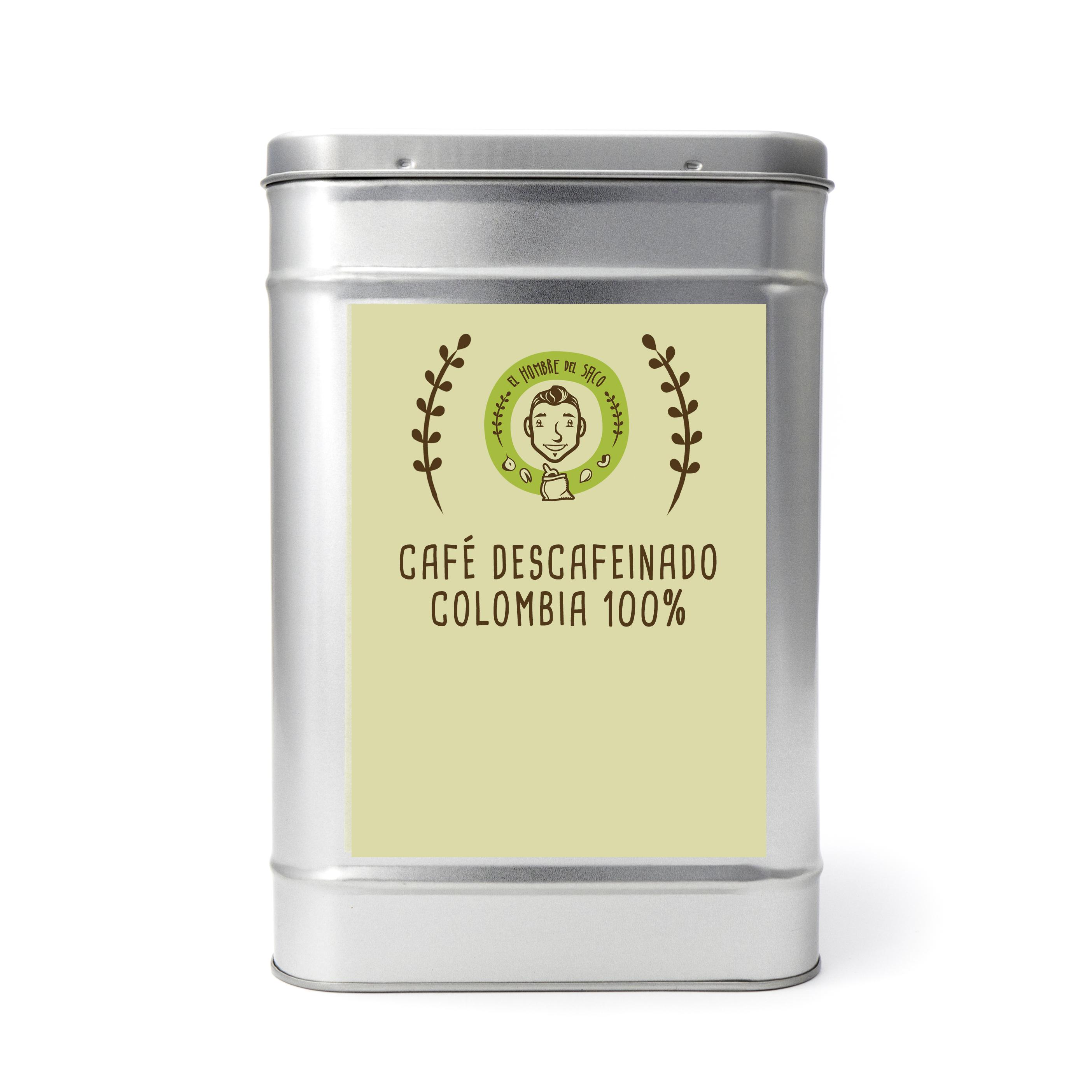 Café Gourmet Descafeinado 100% de Colombia