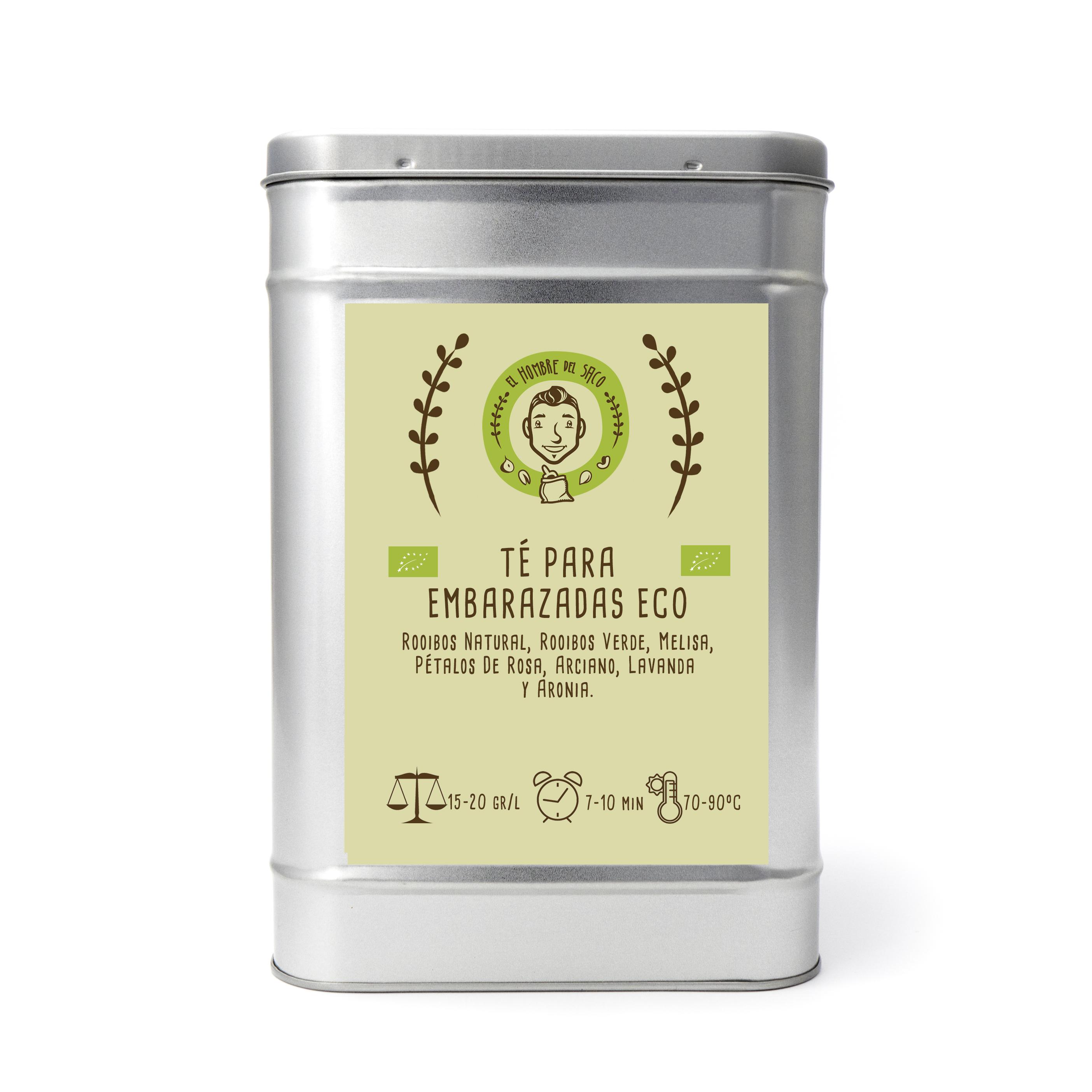 Té para embarazadas ecológico
