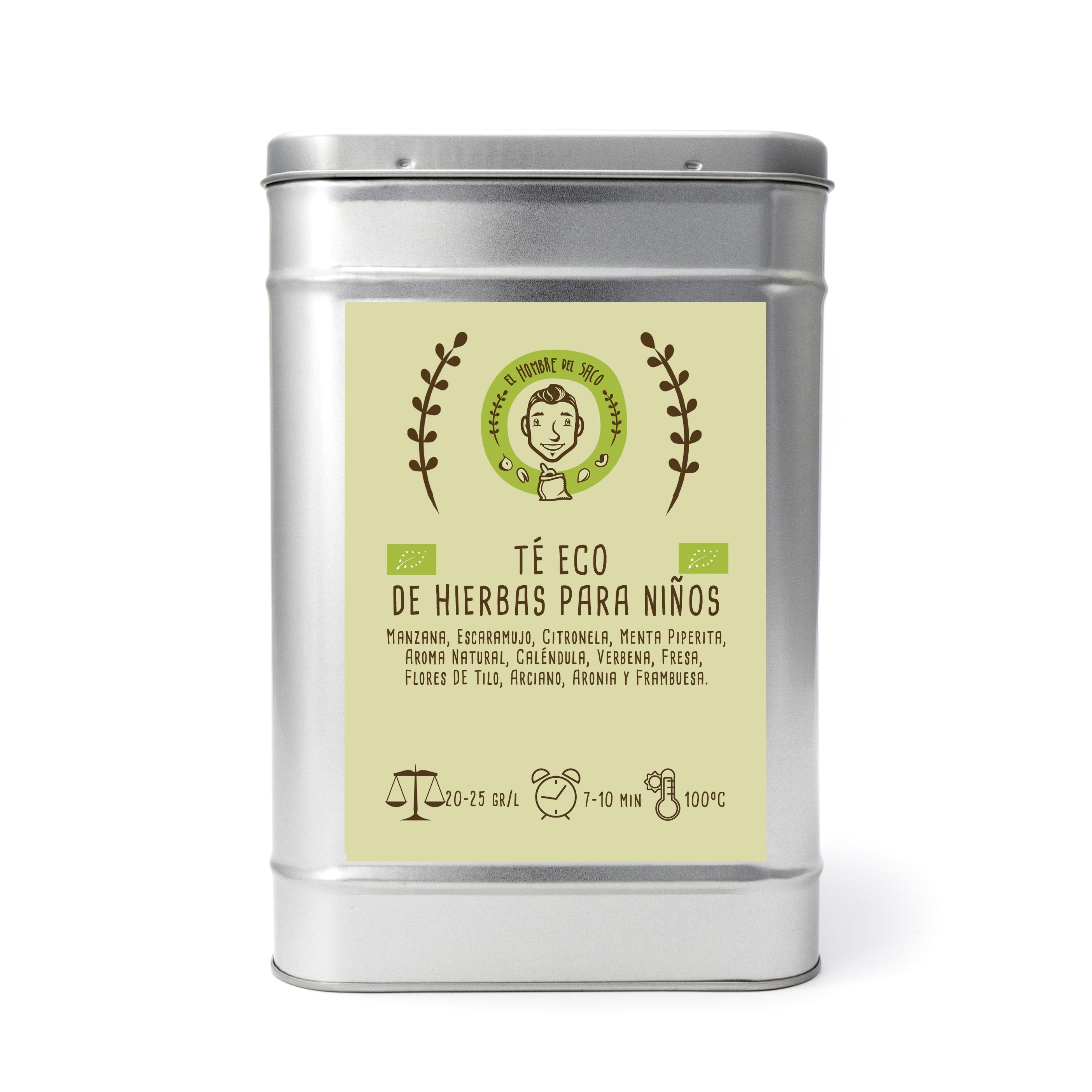 Té de hierbas para niños ecológico