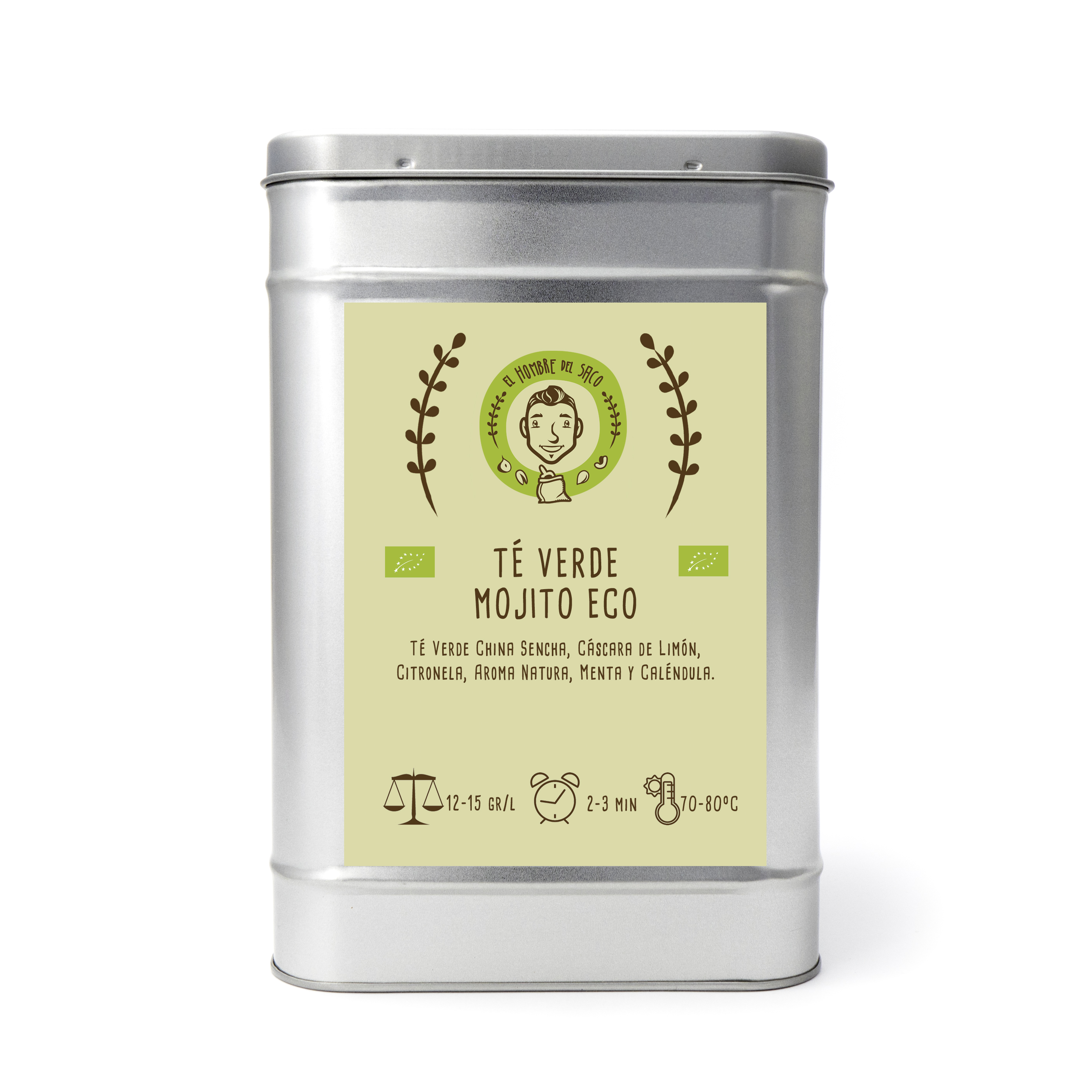 Té verde Mojito ecológico