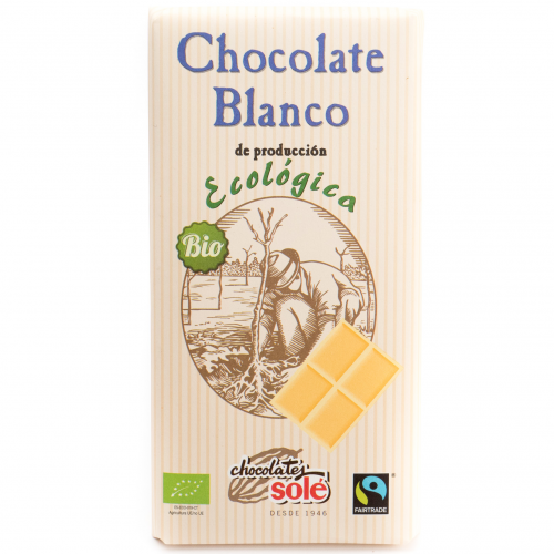Chocolate blanco ecológico