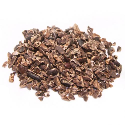 Trozos de cacao ecológico (cacao nibs)