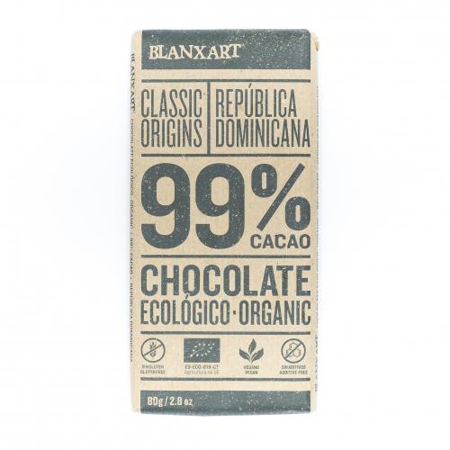 Chocolate negro 99% ecológico