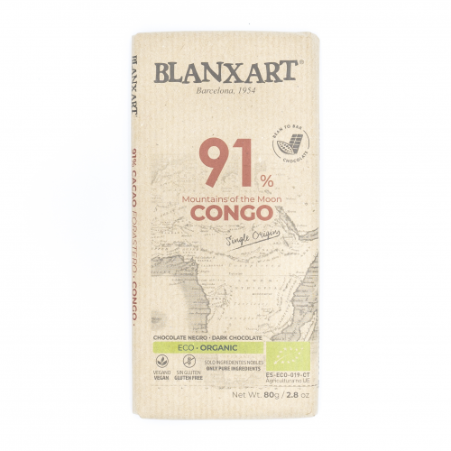 Chocolate negro 91% ecológico