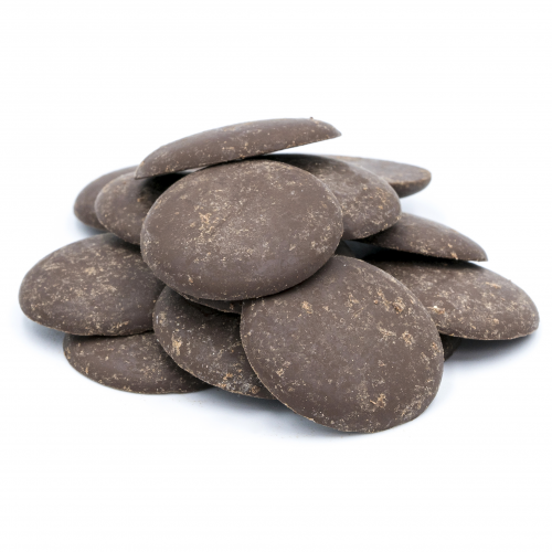 Botones de chocolate 72% ecológicos