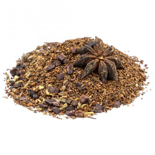 Rooibos con cacao y regaliz ecológico